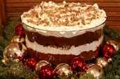 Chocolate Brownie Triffle