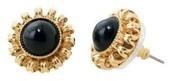 Gigi Black & Gold Stud Earrings $10.00