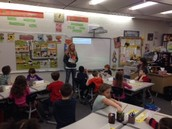 1st grade Junior Achievement Program