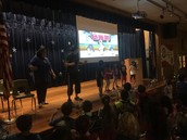 Ms. Zamarron's PreK Panthers & Coach lead us in Fitness Thursday Assembly!