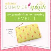 Summer Splash Level 1 Earners (6000 points)