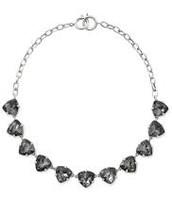 Somervell Necklace - Silver / Black