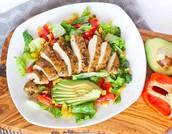 starter- chicken salad