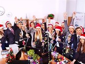 Una festa di Natale con i colleghi di lavoro diversa dal solito!!!