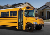 A bus coming to get the children