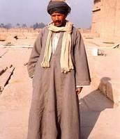 Traditional Dress of Men in Egypt