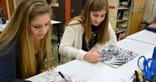 "VTHS Artists Learn the ""Value"" of Art"