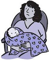 Myth: Post partum depression is an excuse women use for being bad mothers.