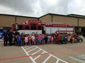 Thank you Little Elm Fire Department!