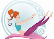60 minutes of sweating, stretching and serenity!