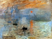 Claude Monet - The Sunrise