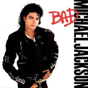 MJ's album cover for BAD