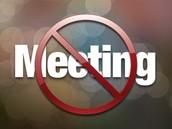 No LEADERSHIP MEETING this Tuesday!!!