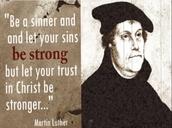 Being a sinner