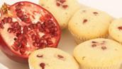 Pomegrante Muffins