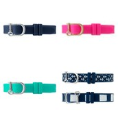 SILICONE SINGLE BAND - Navy, Pink, Teal and Navy Anchor/Stripe