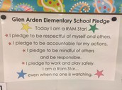 RAMS Star Pledge