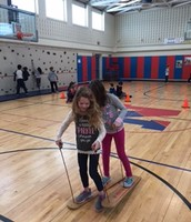 Always fun in P.E. class