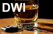 What is DWI mean? and What does Felony mean?