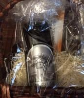 Silver Oak Wine and 2 glasses