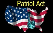 The Patriot Act and the War in Afghanistan