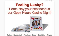 Casino Night Open House