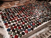 COMING SOON!! Bottle Cap Covered Table
