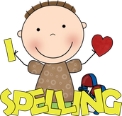Spelling Words for the Week of January 4th