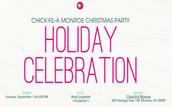 CHRISTMAS PARTY @ CFA MONROE