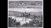 בני ישראל על גדות נהר הירדן