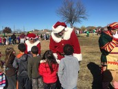 Santa Visited NRES