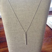 Fine Line Necklace $22