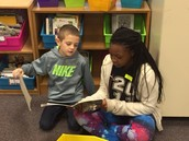 Reading Buddies with Irvin