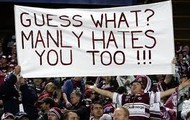 Manly is the team people like to hate