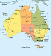 Australia's Location