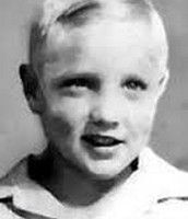 Him as a young child