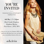 Oh and don't forget you are invited to come along to tomorrow's 'meet Stella & Dot Event'!
