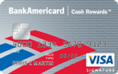 Credit Card Offer 2-BankAmericard Cash Rewards™ Credit Card