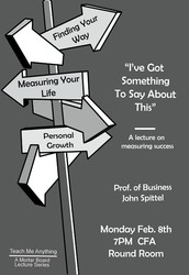 Mortar Board presents: Teach Me Anything! Lecture Series
