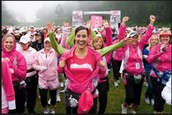 The breast cancer walk