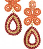 Capri Chandelier Earrings $25