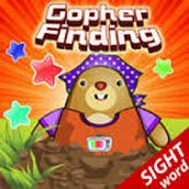 Gopher Finding Sight Words