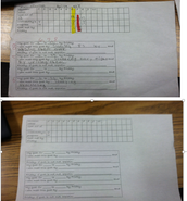 Arelene's Quick Fact Fluency Goal Setting Tracker