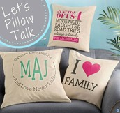 Pillows are HERE!