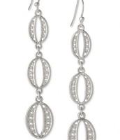 Kimberly Drop Earrings - Silver