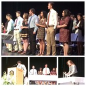 2015-16 Honor Society Inductions