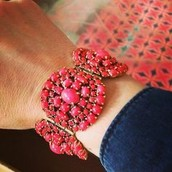 Sardinia Bracelet - Red