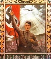 Hitler's poster about Nazi propaganda