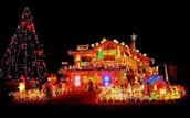 someones christmas house