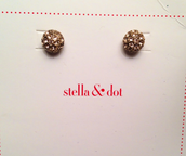 Soiree Studs - Gold